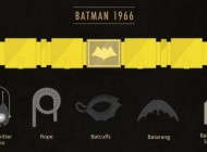 1966 – 2012 The Evolution of Batman's Utility Belt – Infographic