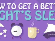 A Guide to Getting a Good Night's Sleep – Infographic
