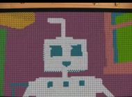 Watch: Amazing Stop-Motion Animation Made from 1296 Mini Rubik's Cubes