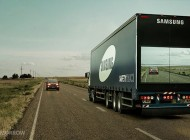 Samsung's new Safety Trucks Aims to Reduce Overtaking Accidents