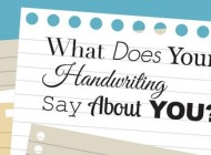 Find Out What Your Handwriting Says About You – Infographic