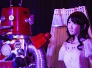 Watch: Two Robots Get Married in the World's First Robot Wedding