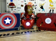 Captain America and Iron Man Themed Xbox One and PS4 Laptops