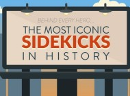 Coolest Sidekicks of All Time – Infographic