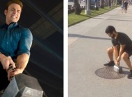 Guy Builds Real-Life Thor's Hammer That Only He Can Lift