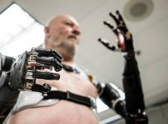 Watch: Man Test His Mind-Controlled Robotic Prosthetic Hands