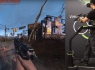 Watch: Playing Fallout 4 With an Oculus Rift and Virtuix Omni