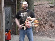 Watch: This Insane Minigun Made Of Coke Bottles Fire Arrows in Full-Auto