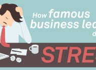 How To Deal With Stress: Advice From 7 Successful Entrepreneurs – Infographic