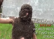 Watch: This Insane Dude Cover Himself Up In 30,000 Bees