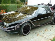 Knight Rider Goes Back To The Future in This Awesome DeLorean K.I.T.T.