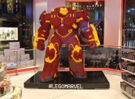 This Badass 8-Feet Tall Hulkbuster Is Built Entirely With LEGO Bricks