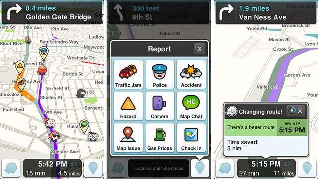 Waze Traffic App